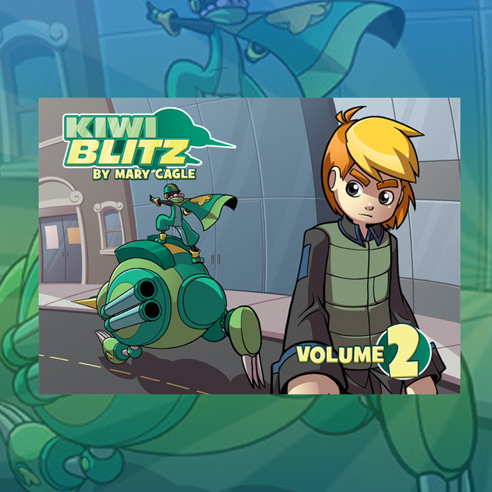 Kiwi Blitz - Volume 2 (Ebook) from Kiwi Blitz - Webcomic Merchandise