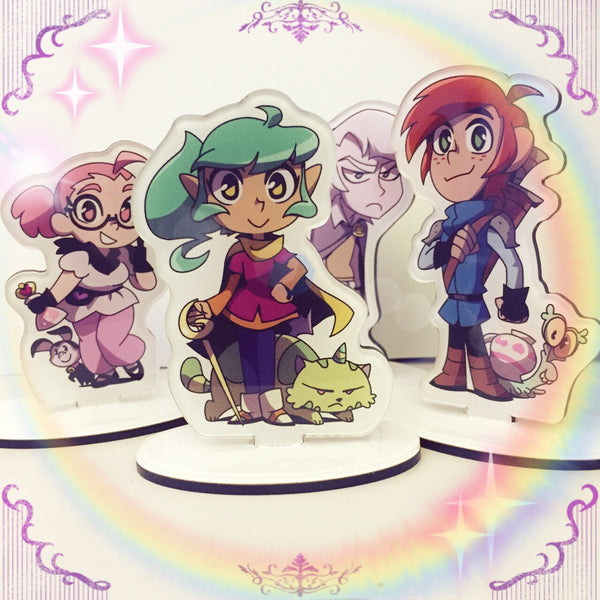 Harpy Gee - Character Stands from Harpy Gee - Webcomic Merchandise