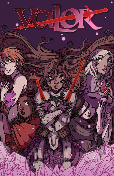 Valor: Swords Anthology from Namesake - Webcomic Merchandise