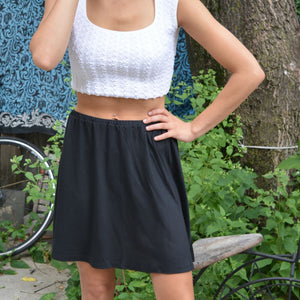 Soft Mini Skater Skirt