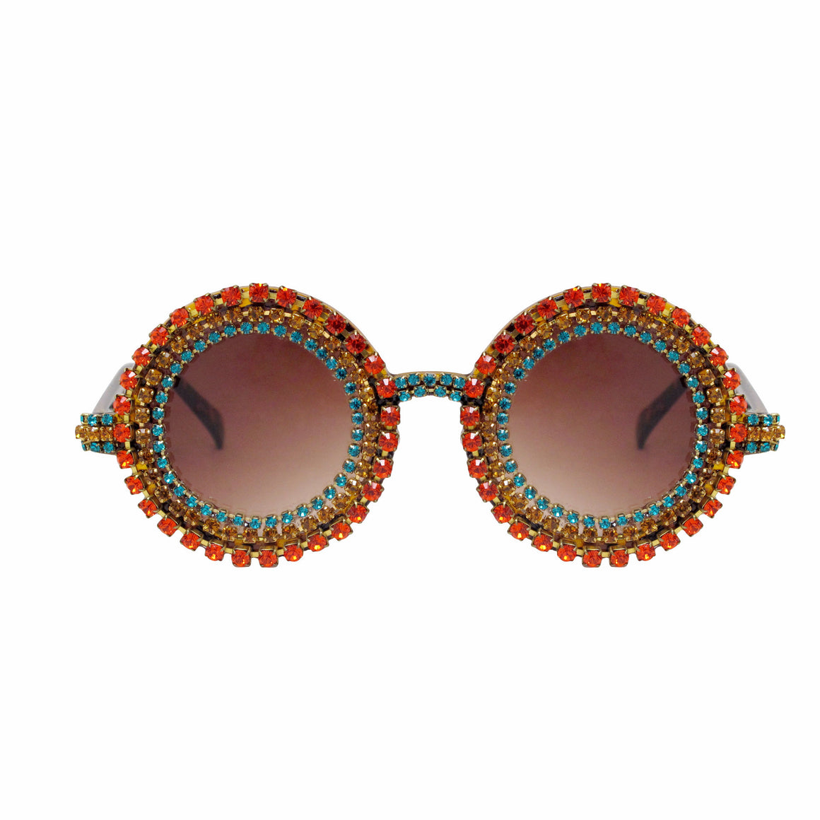 A-Morir Bonnie Multicolor Round Sunglasses