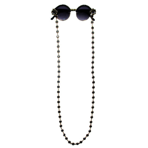 Hoffs chain necklace clubmaster sunglasses