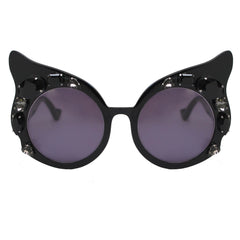 A-Morir Mary Flame Gem Cat Eye In Black Gem