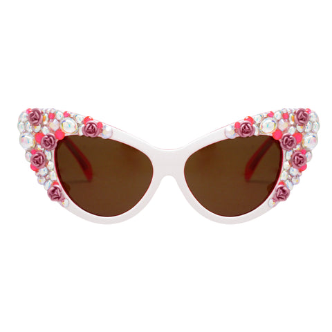 Jayne floral cat eye