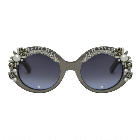 Billote round embellished sunglasses