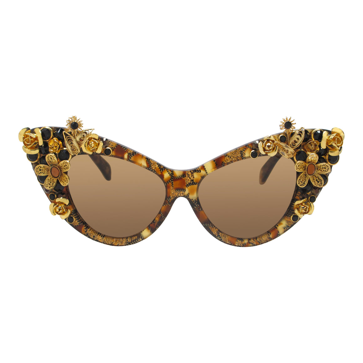 Sawyer floral tortoise cat eye