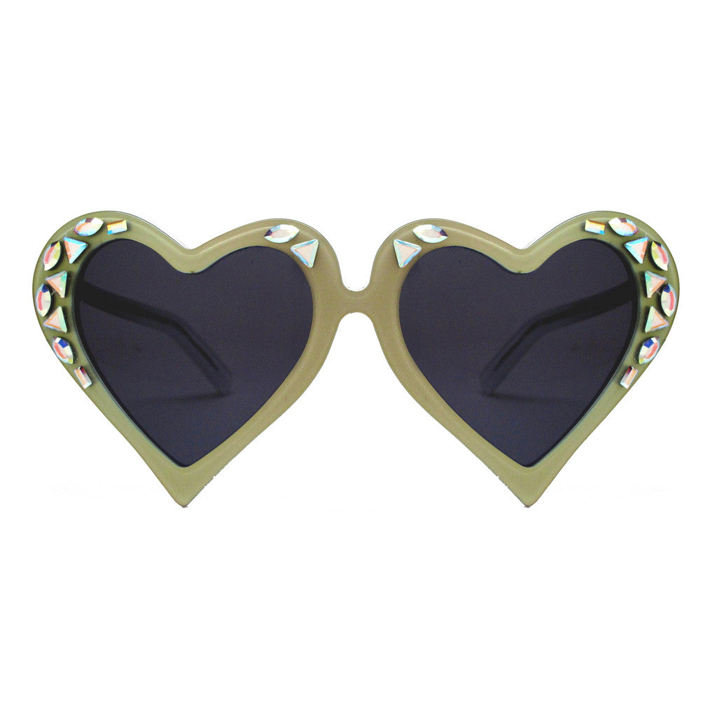 Deily bespoke heart shaped frames