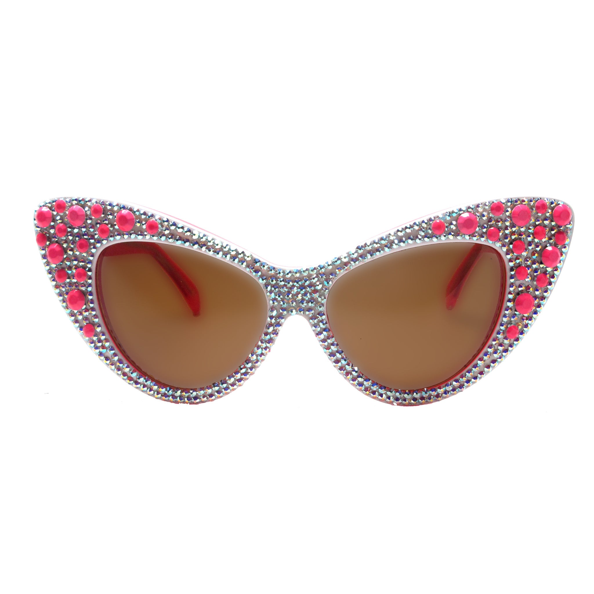 Gordon Pink crystal accent cat eye