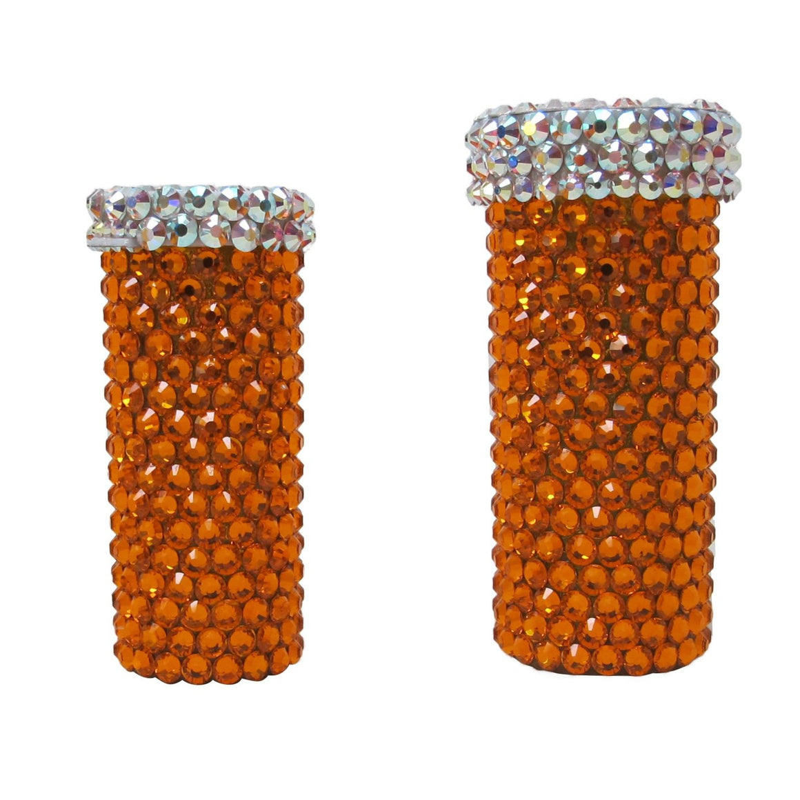 Pill Bottle 2  |  Large Crystals