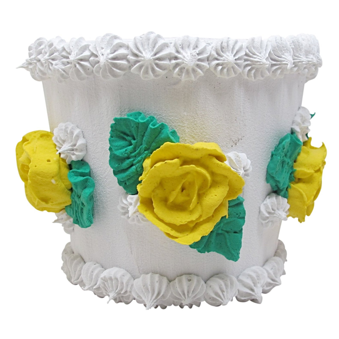Cake Planter - Yellow