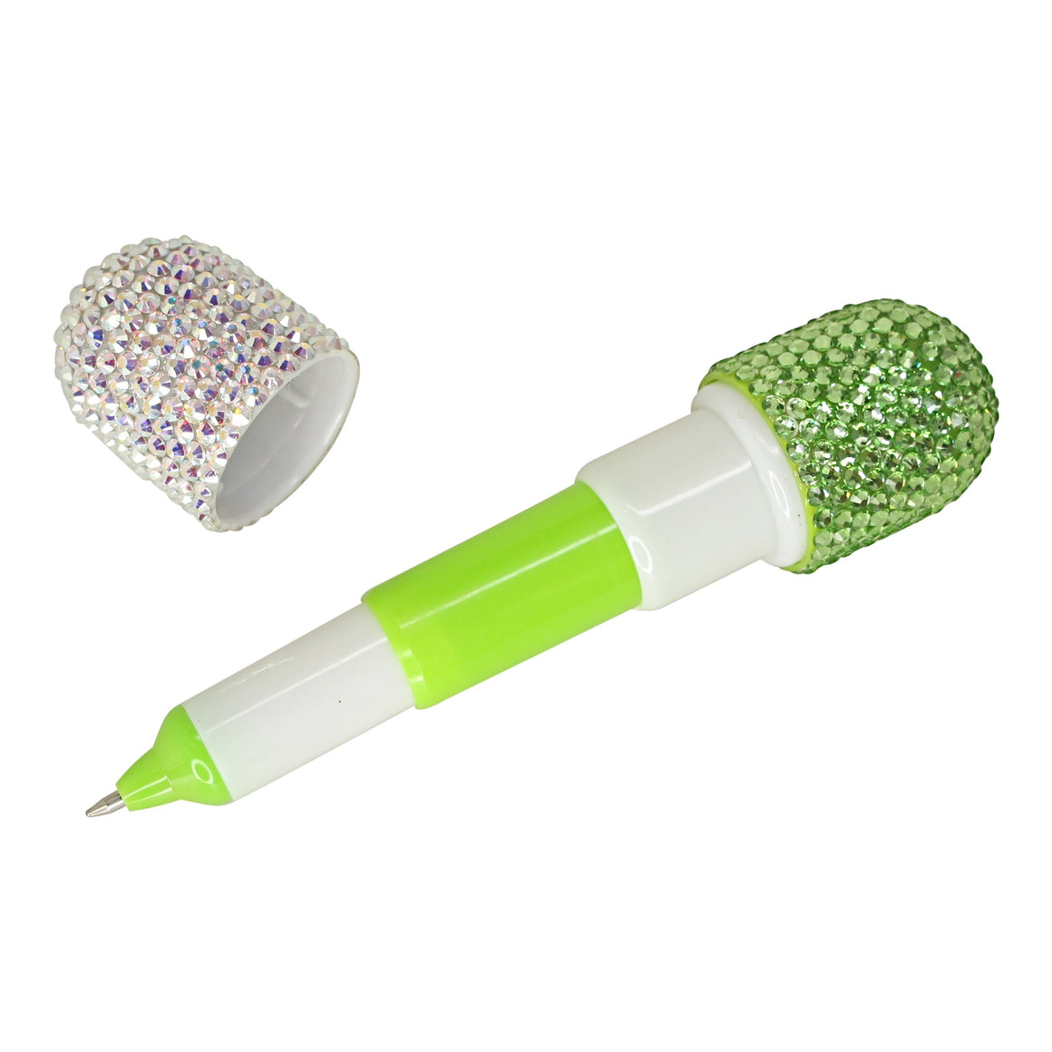 Green Crystal Pill Pen