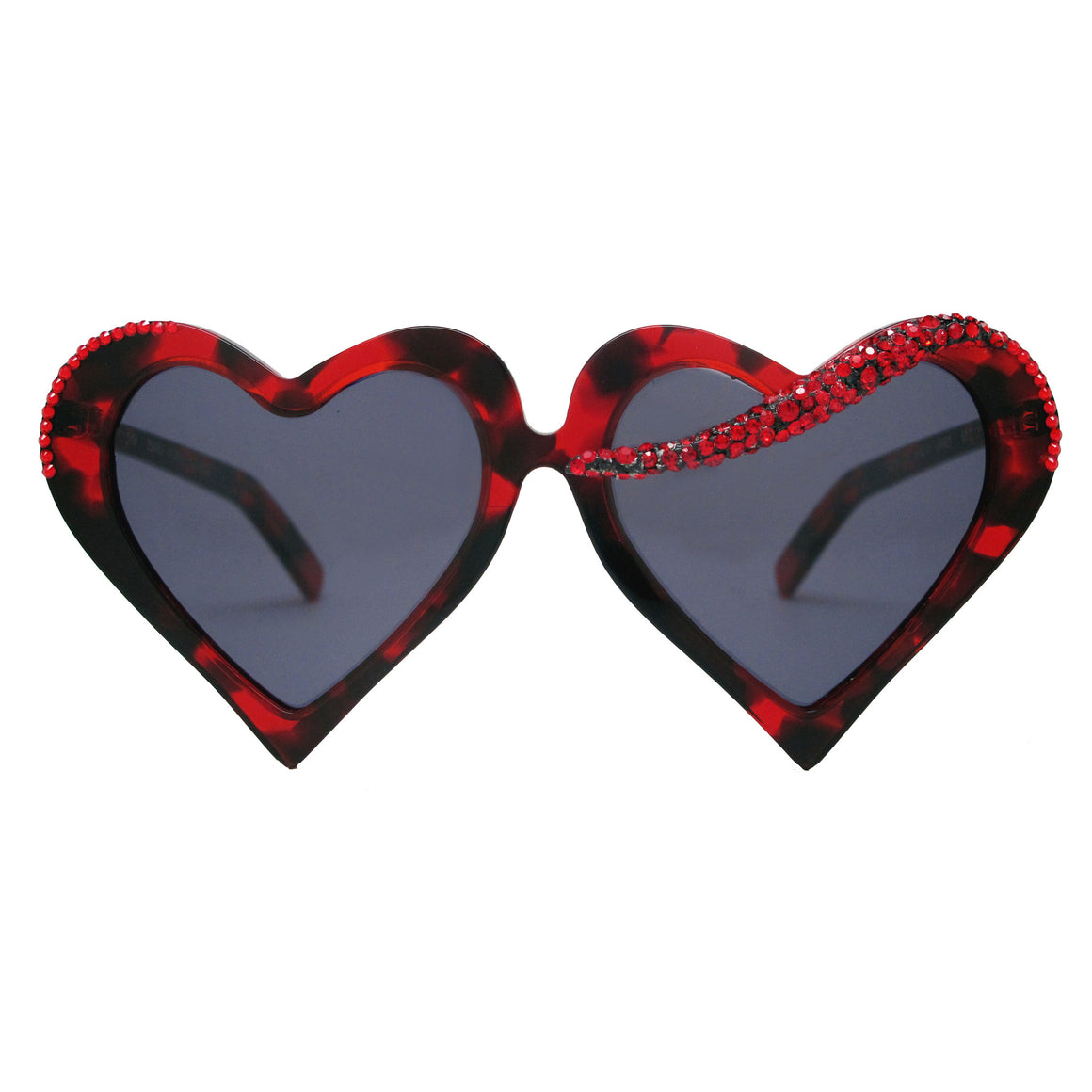 Jorgensen Red Tortoise heart shaped sunnies