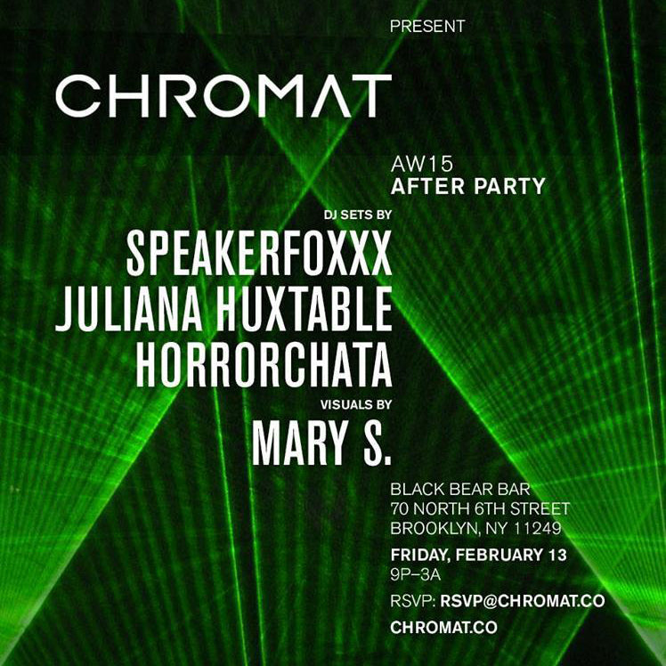 Chromat AW15 AFTER PARTY