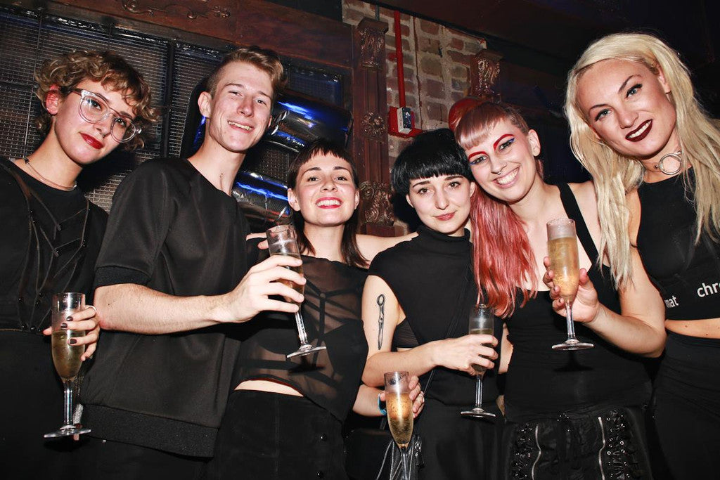 The ChromatTEAM at the Chromat SS16 After Party + 5 Year Anniversary Photo by Maro Hagopian