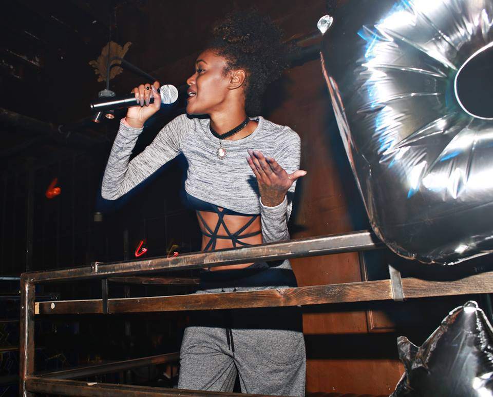 Chynna performing at the Chromat SS16 After Party + 5 Year Anniversary Photo by Maro Hagopian