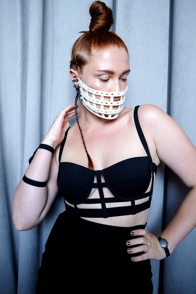 Chromat 3D Printed Fashion Lingerie Wearable Technology