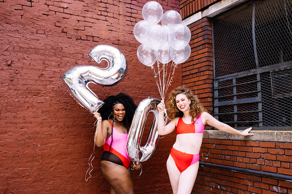 trans joy giving holiday sale girlfriends fun sexy swimwear