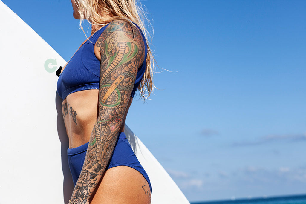miami swimwear surfer surfboard swimwear