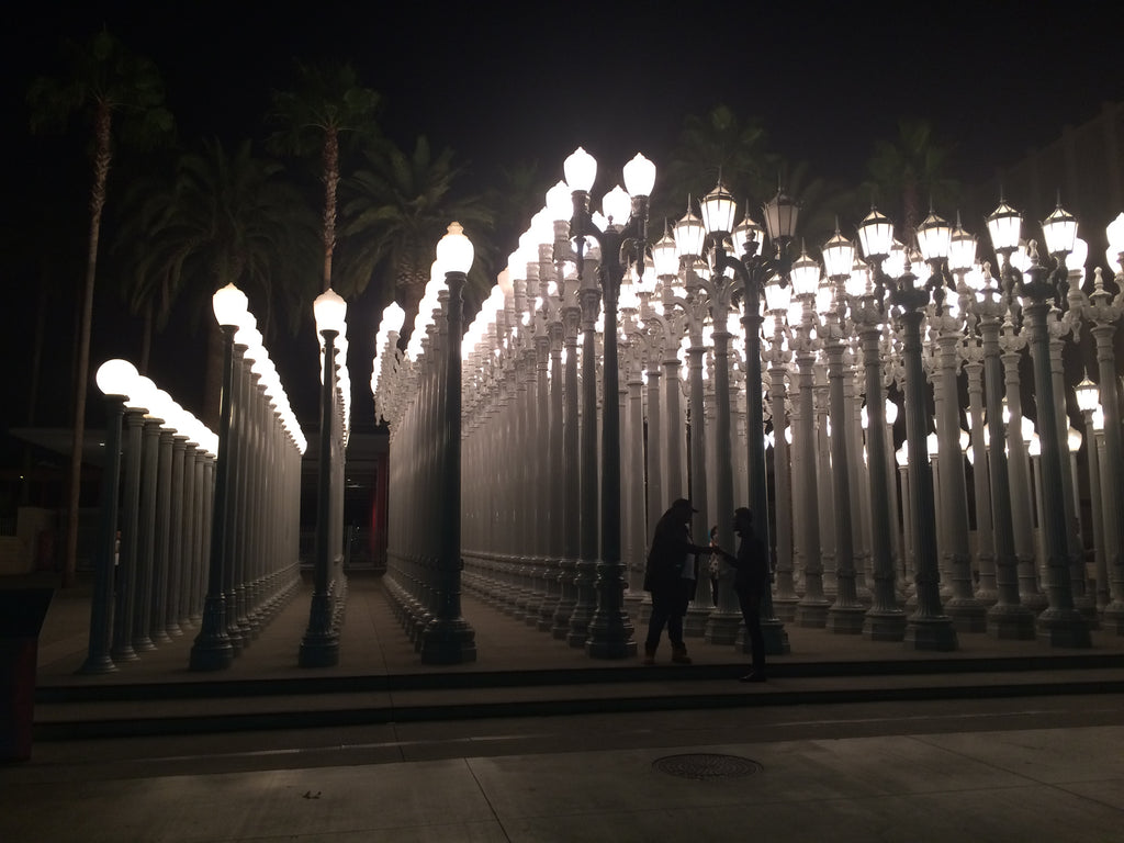 LACMA Urban Light