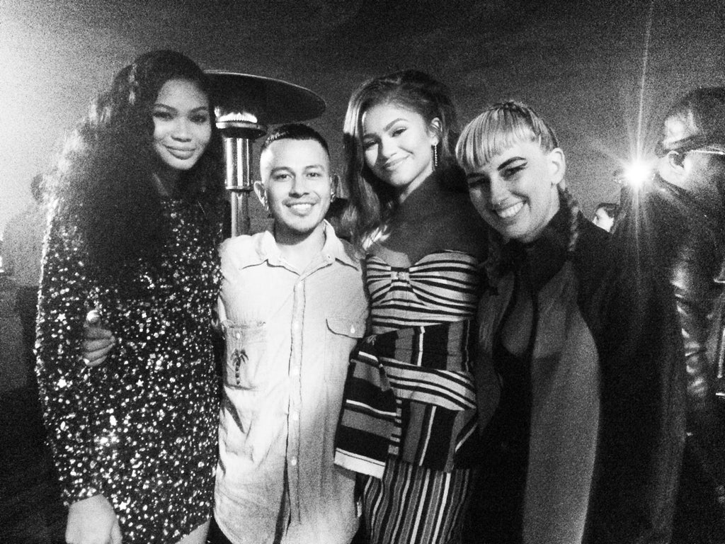 Chanel Iman, Rio Uribe, Zendaya and Becca McCharen