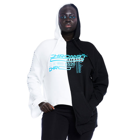 Chromat x Reebok 10 Year Hoodie - White/Black