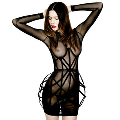 Crossed Wires Cage Dress