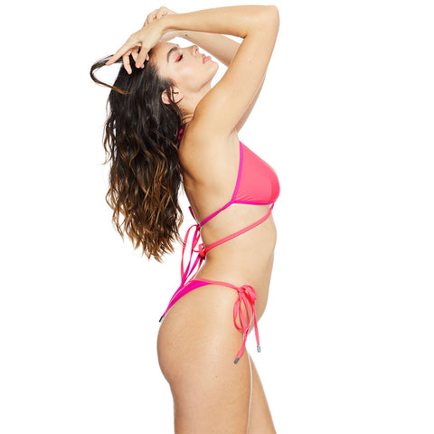 Cusp Tie Bottom - Pink