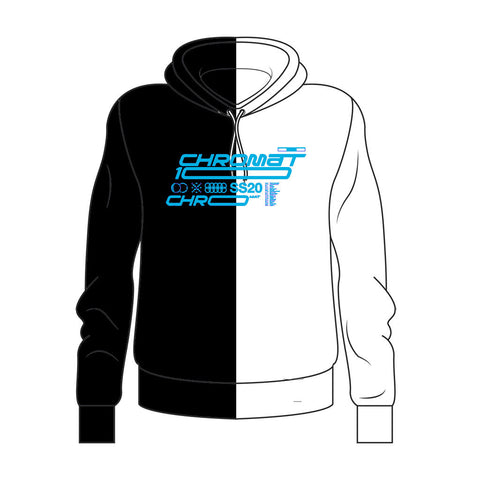Chromat x Reebok 10 Year Hoodie - Black/White