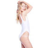Mica Solid Suit - White
