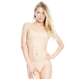 Skim Ribbed Top - Sand
