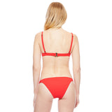 Ribbed Banded Bottom - Red