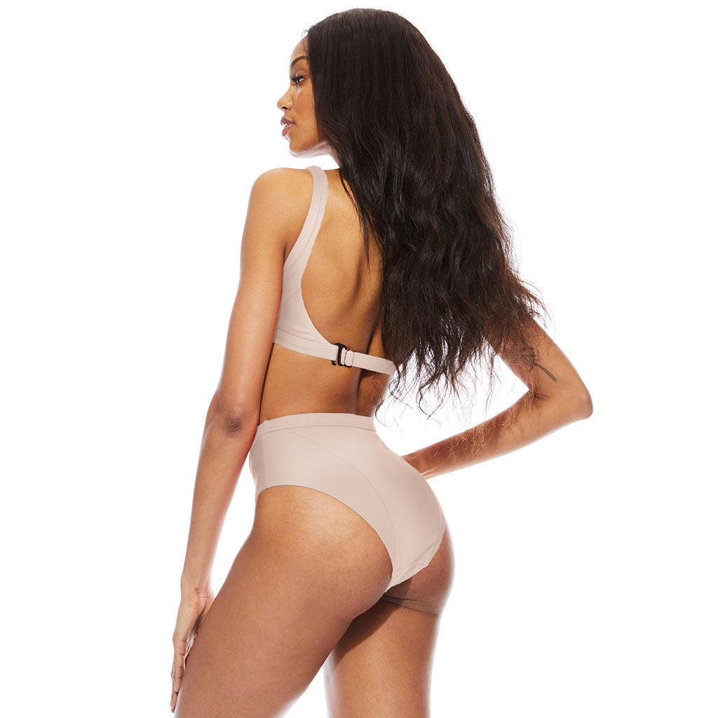 Mica Ribbed Bottom - Sand