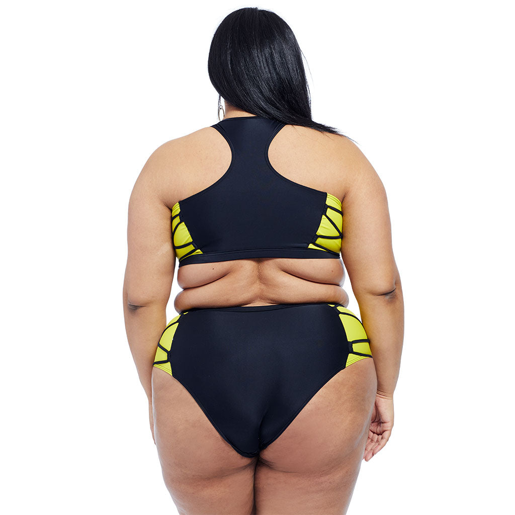 Launch Top - Black/Yellow