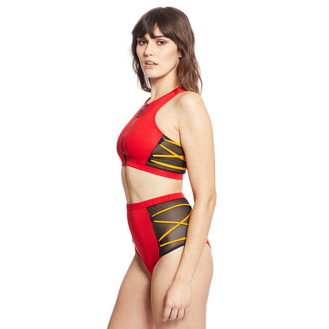Launch Top - Red