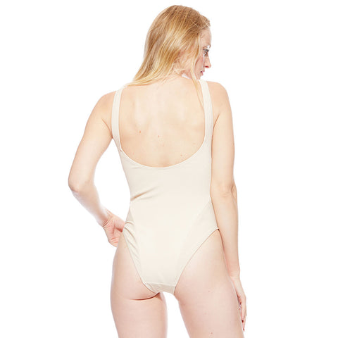 Mica Ribbed Suit - Sand