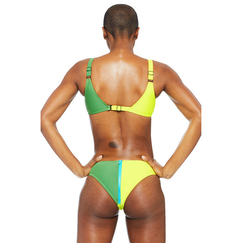 Ericka Zip Bottom - Lime
