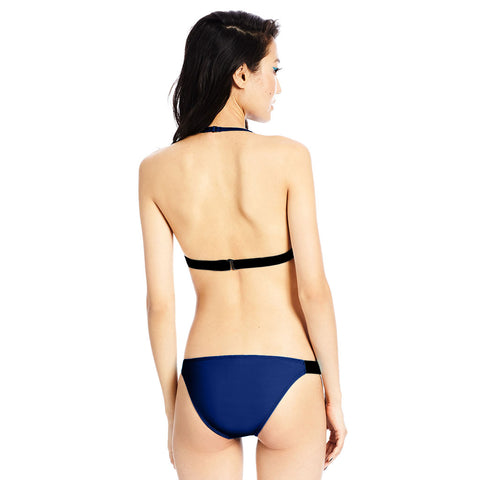 Banded Bottom - Midnight Blue / Black