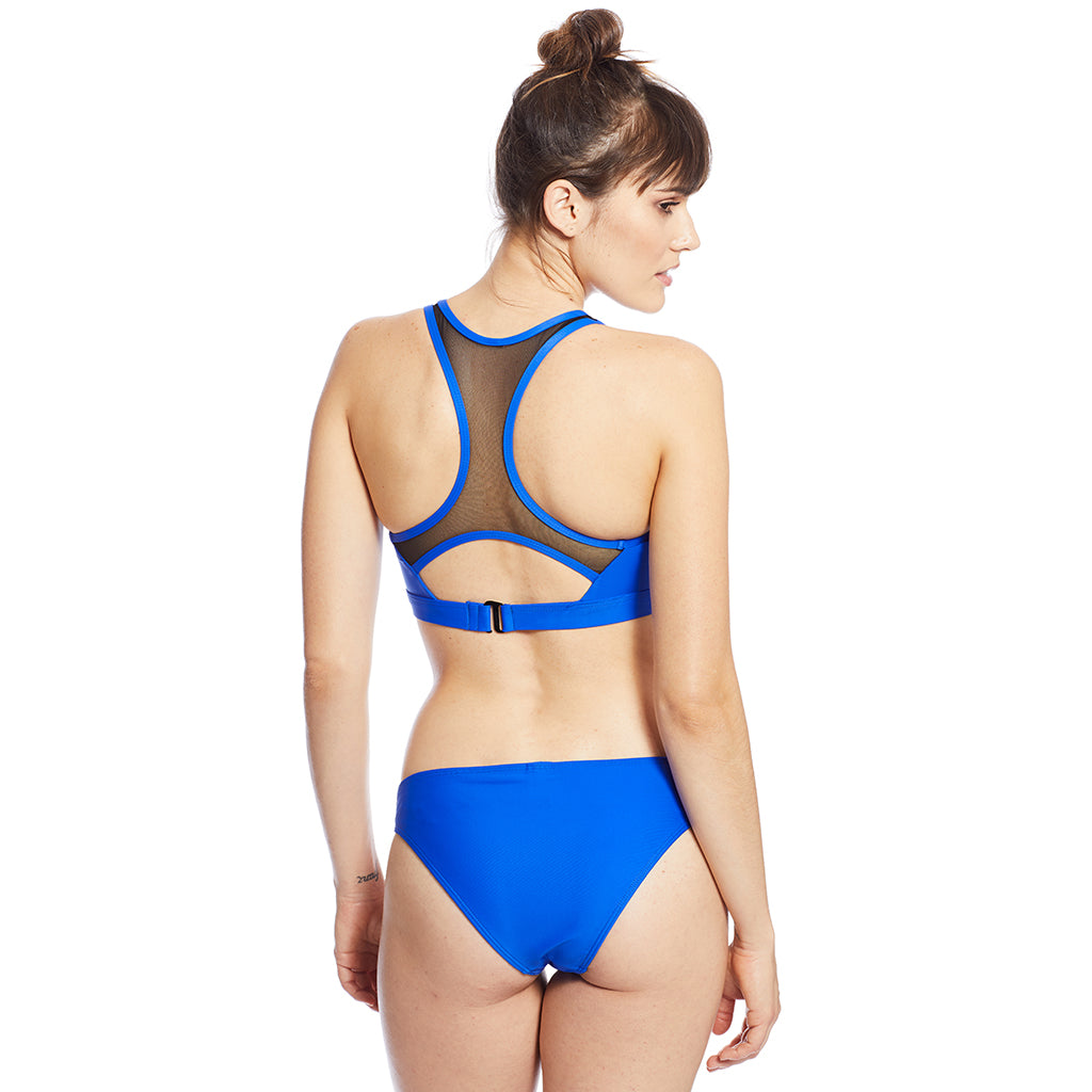 Banded Bottom - Cobalt