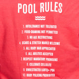 Chromat Pool Rules T - Red