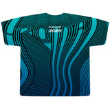 2020 Wavy T - Teal