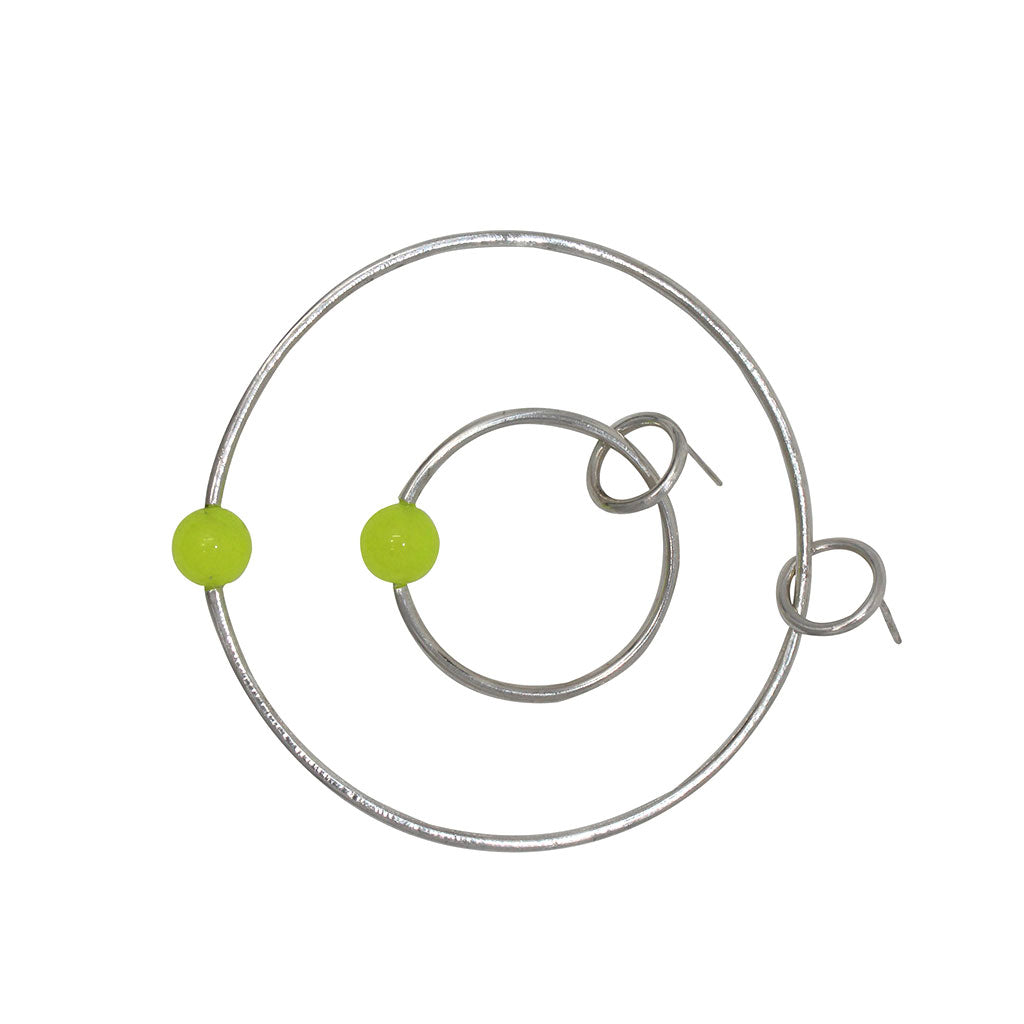 Orbit Earrings - Neon