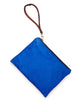 FLF Leather Pouch : Electric Blue