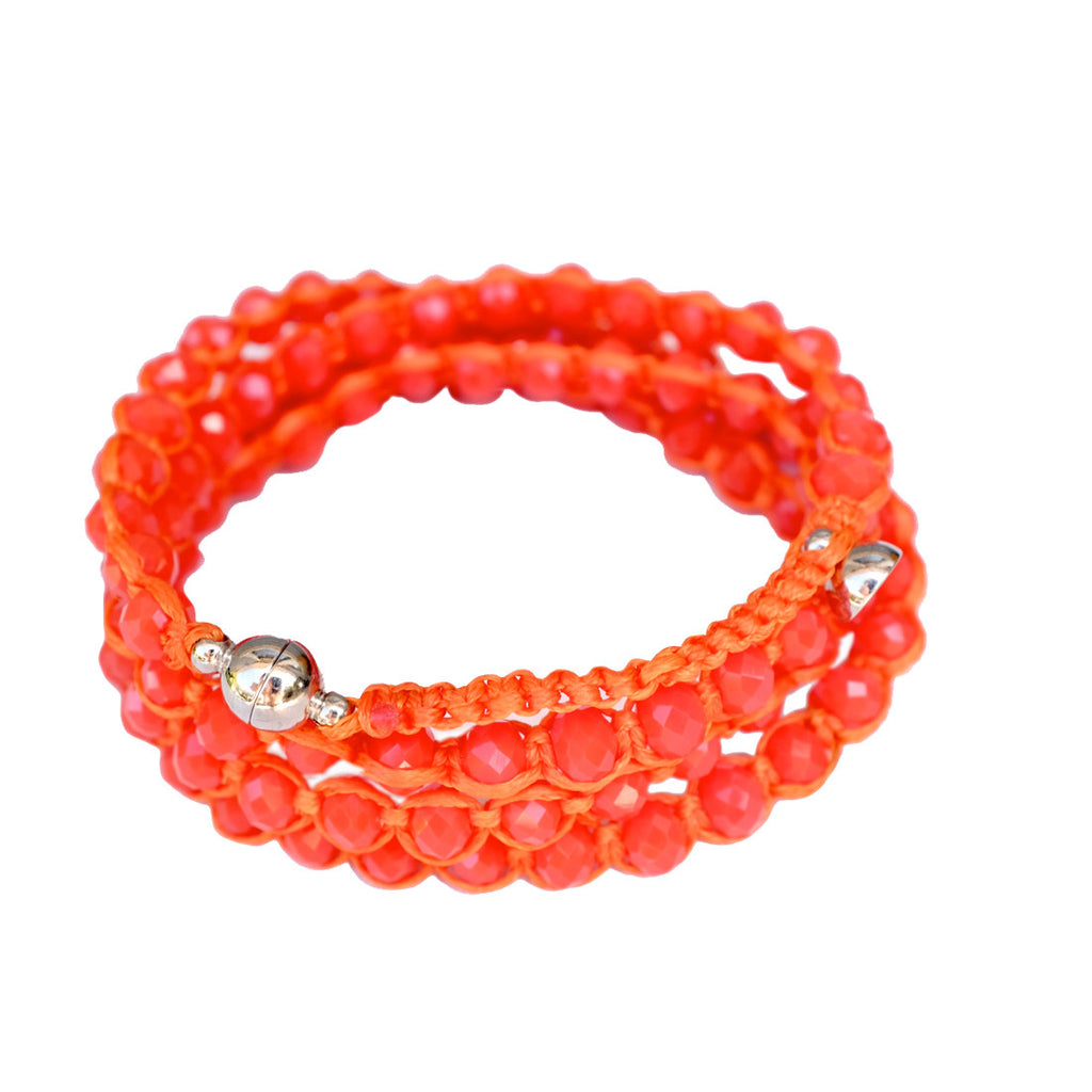 Candy Crystal Wrap TANGERINE