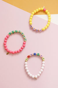 Mantra Stretch Bracelets