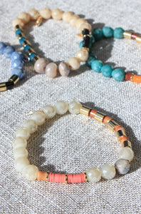 Mixed Beads Stackable Bracelets