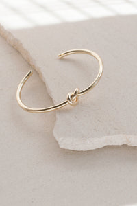 Knot Twist Cuff Bangle