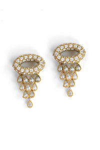 Sparkle Post Earrings - Gold