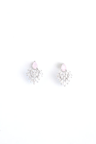 Oh-So-Sparkly Earrings - Rose