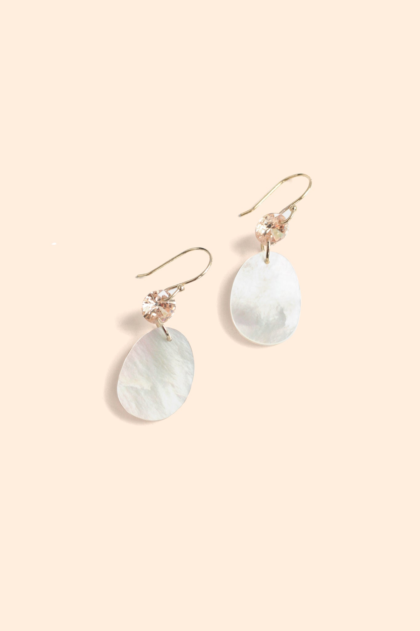 Mini Drop Earrings - Pearl
