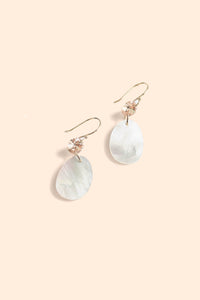 Delicate Pearl Drop Earrings - Pearl